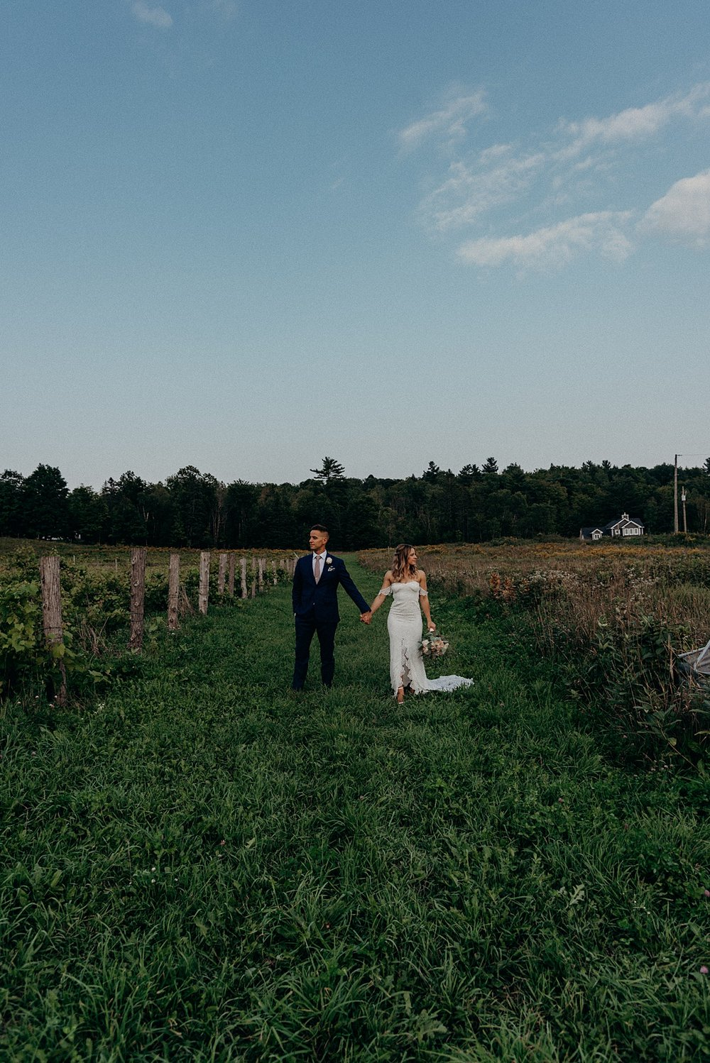 Laura and Jackson Vignoble de Chelsea Wedding Ottawa