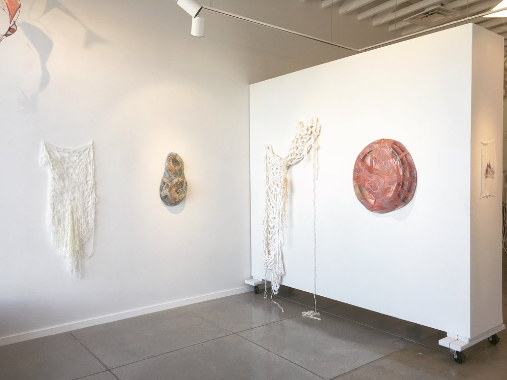 Exhibition view of  Desire Trails