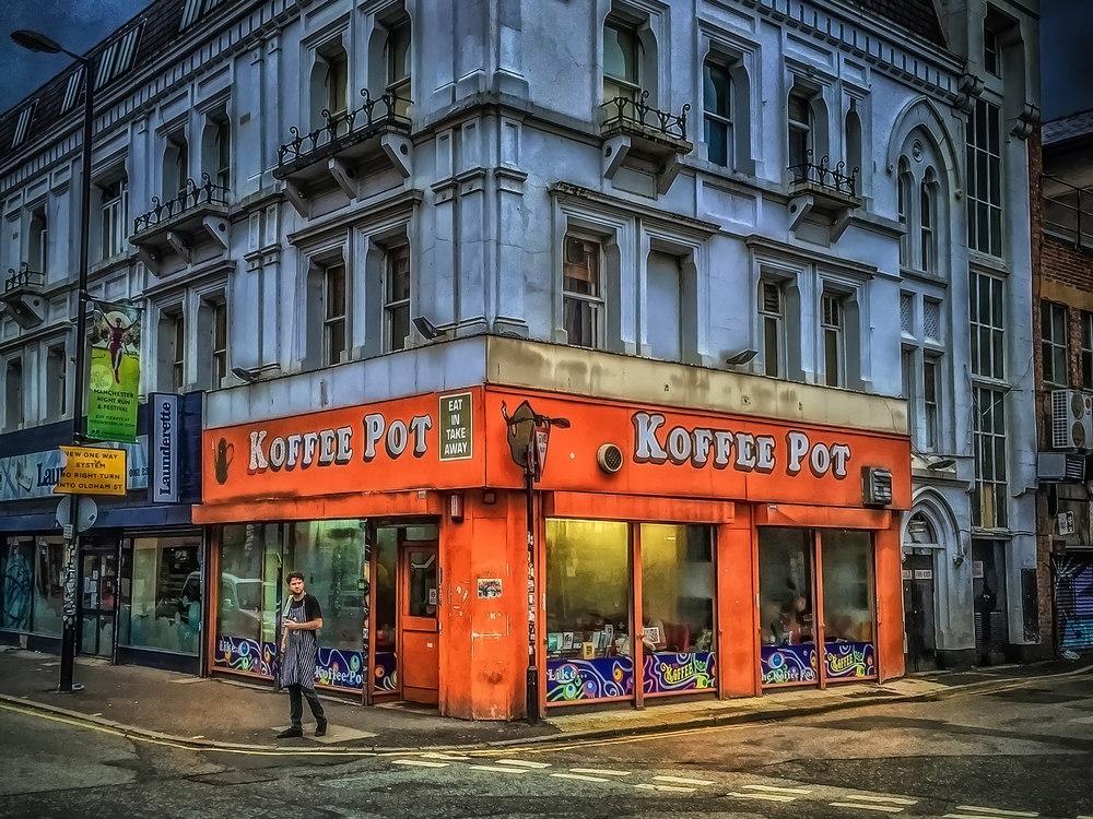 Koffee Pot, Manchester