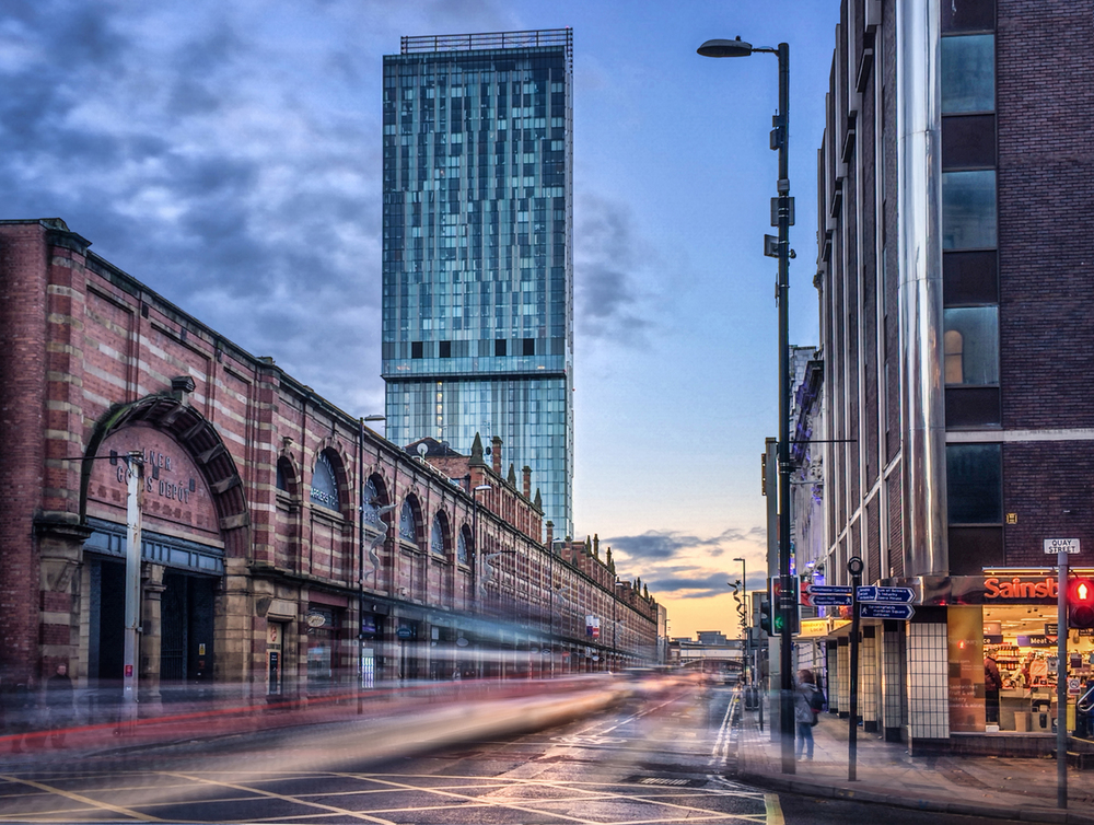 Beetham Tower and Great Northern Warehouse