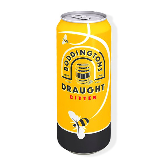 A can of Boddingtons.