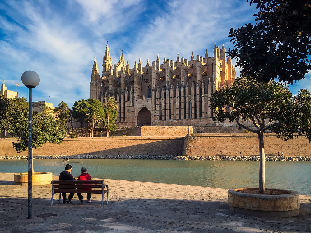 Palma Cathedral iPhone image
