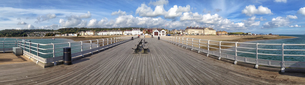 iPhone panoramic of Beaumaris Pier by Adrian McGarry. ©Adrian McGarry.