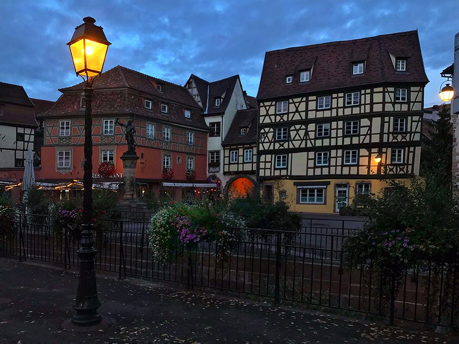 Evening in Colmar