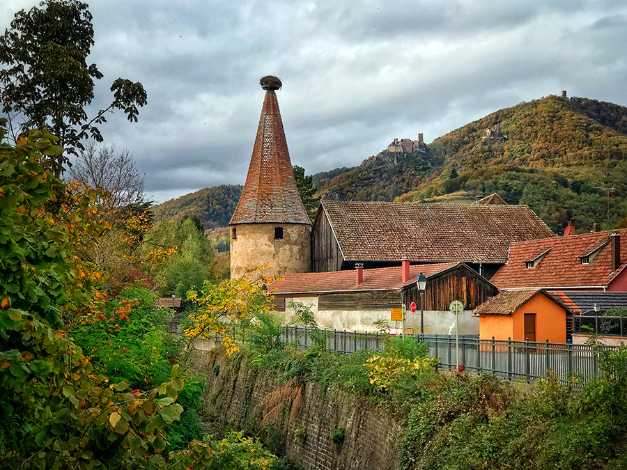 Ribeauvillé is a charming town which has successfully retained its heritage.