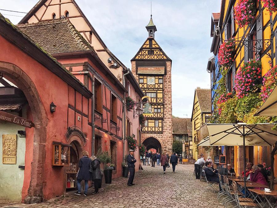 Riquewihr, a romantic, medieval gem.