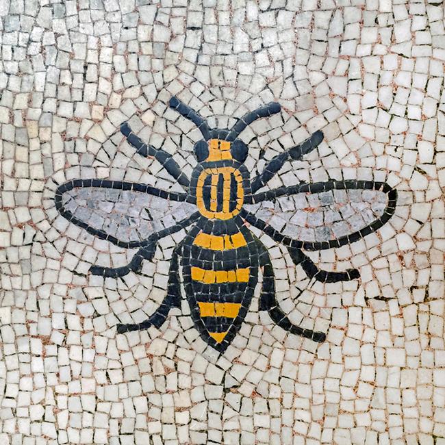 Manchester Bee Motif