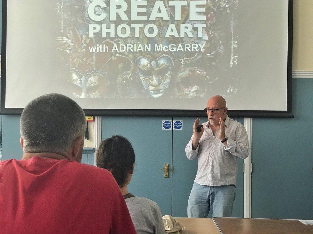 Adrian McGarry iPhone workshop