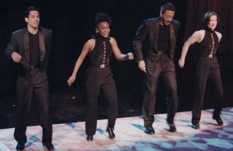 Mark Mendonca, Cyd Glover, Gregory Hines, Barbara Duffy