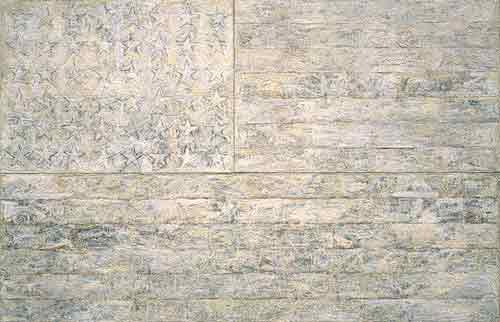"""White Flag"" by Jasper Johns"