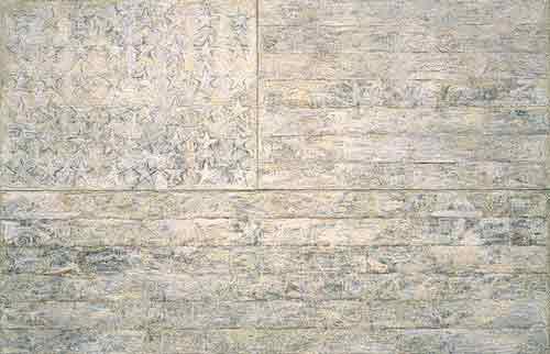 """""""White Flag"""" by Jasper Johns"""