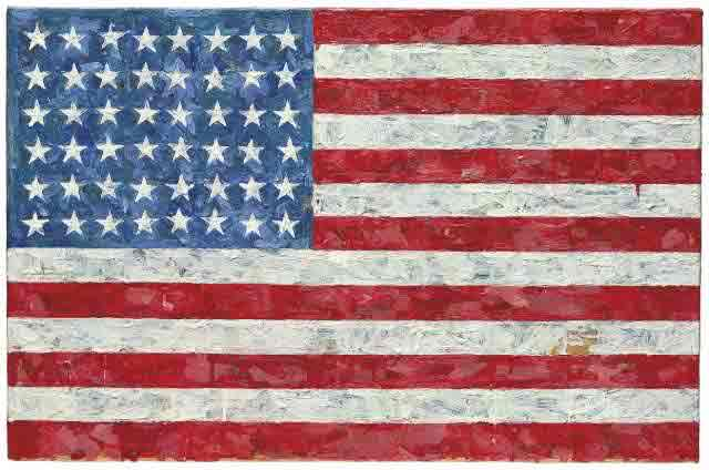 """Flag"" by Jasper Johns"