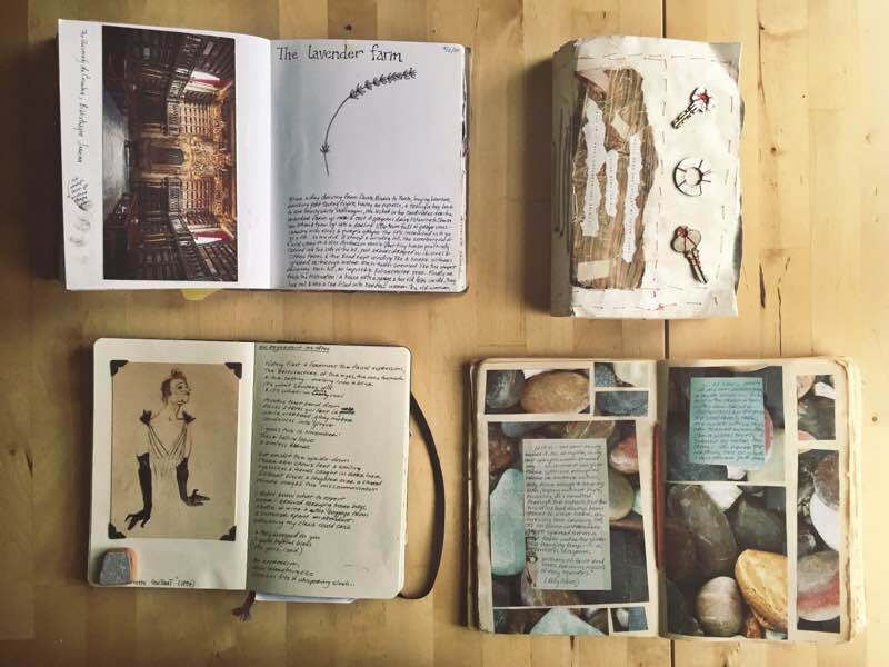 Journals on Table