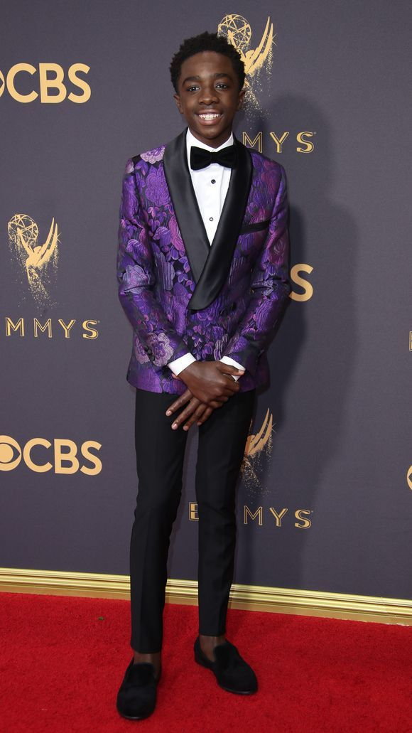 Caleb McLaughlin  - How can so much swag come with a 15 year old? When you're styled by the greats like Darrick Leak and @GarconCouture, you cant go wrong!