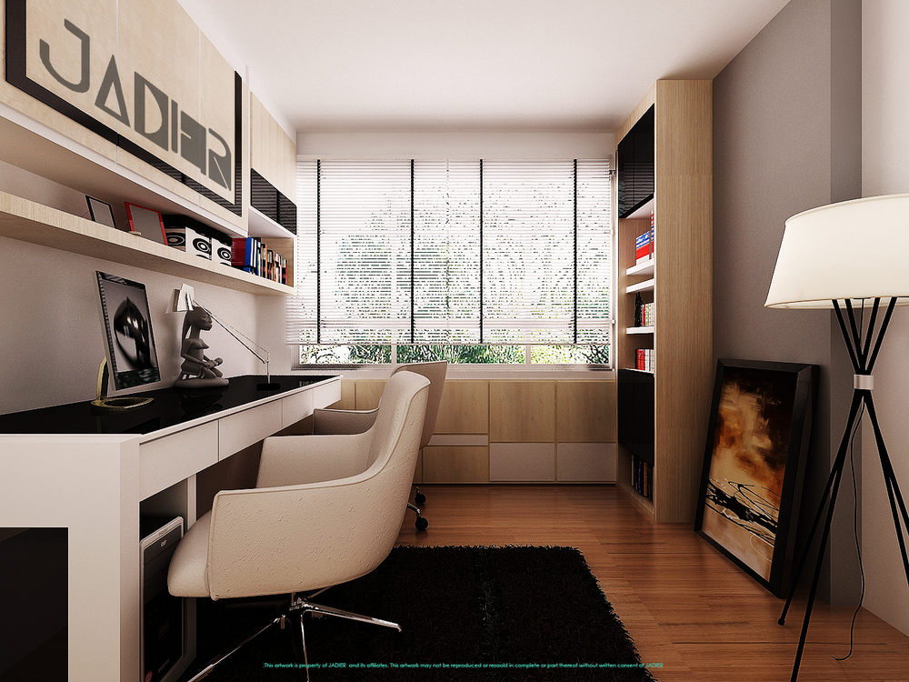 Jadier for Interior designs study room