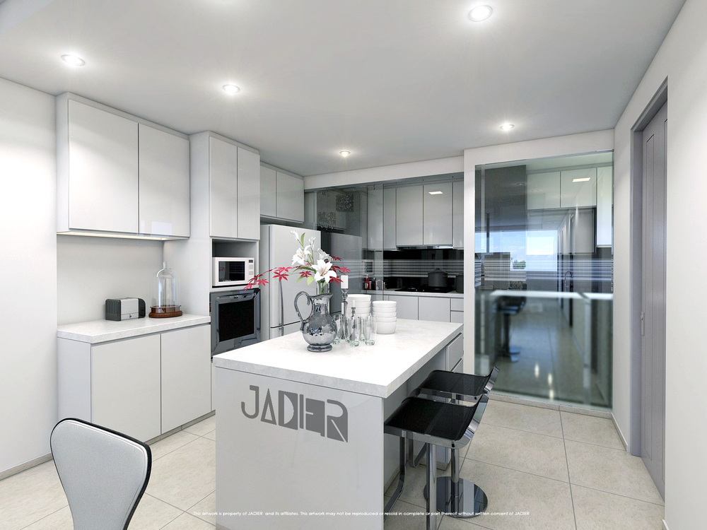 Kitchen designs jadier for Dry kitchen ideas