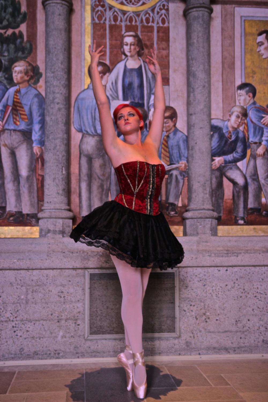 "Louise La Fay ""The Ballerina"""