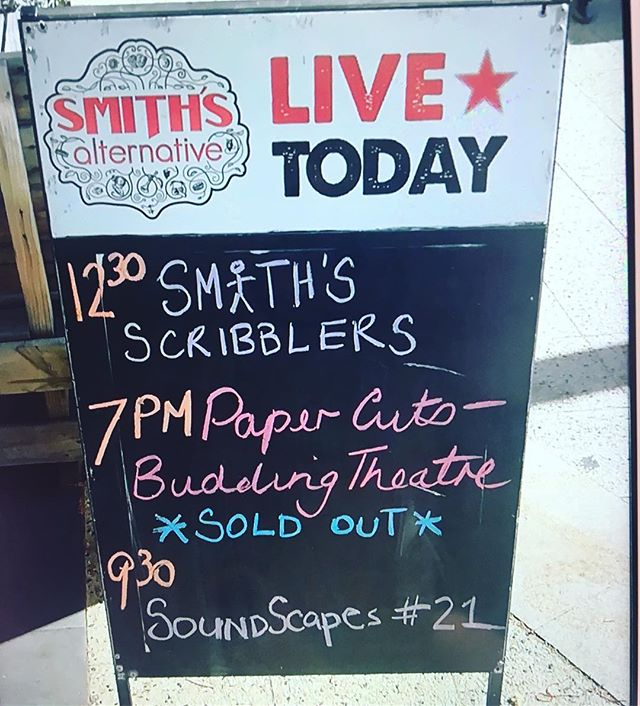 Our Paper Cuts Youth show @smithsalternativecafe was so much fun! Stay tuned for the announcement of our next show... _ #soldout #theatre #youththeatre #CBRArts #CBR #Canberra #BuddingTheatre #Canberraevents #Canberralife #Australiantheatre #Australianplaywright #actor #actorlife #nextshow #comingsoon