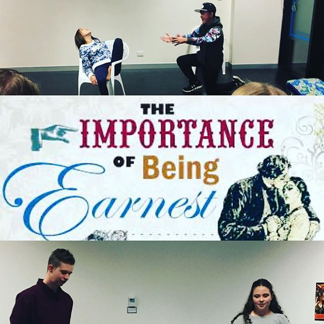 Our first Teen Drama class of the term kicked off on Sunday! Can't wait to bring this play to life... #theimportanceofbeingearnest #teendrama #play #theatre #youththeatre #OscarWilde #Canberra #Canberratheatre #CBR #CBRArts #thisiscanberra #canberraevents #canberralife #actorlife #victorian #farce #comedy #auditions #dramaclass #buddingtheatre #literature #laughter #fun