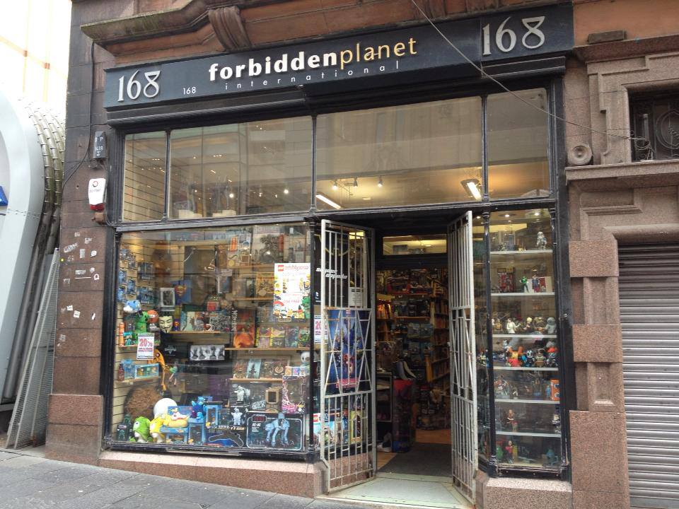 Forbidden Planet - 168 Buchanan Street, Glasgow, Scotland, UK+44 0141 331 1215