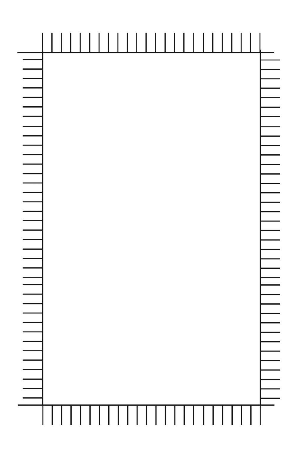 Blank comic grid