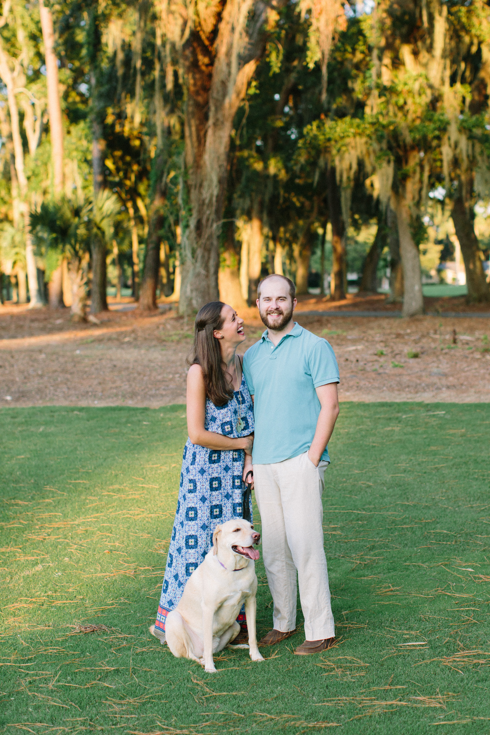 Lauren, her husband Chip, and their adorable pup, Sophie.