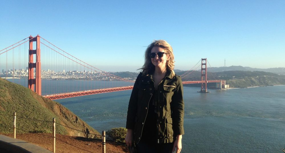 Jess in her beloved SF.