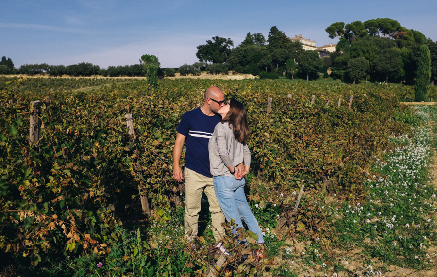 Mark + Caroline | Chateaneuf-du-Pape, France