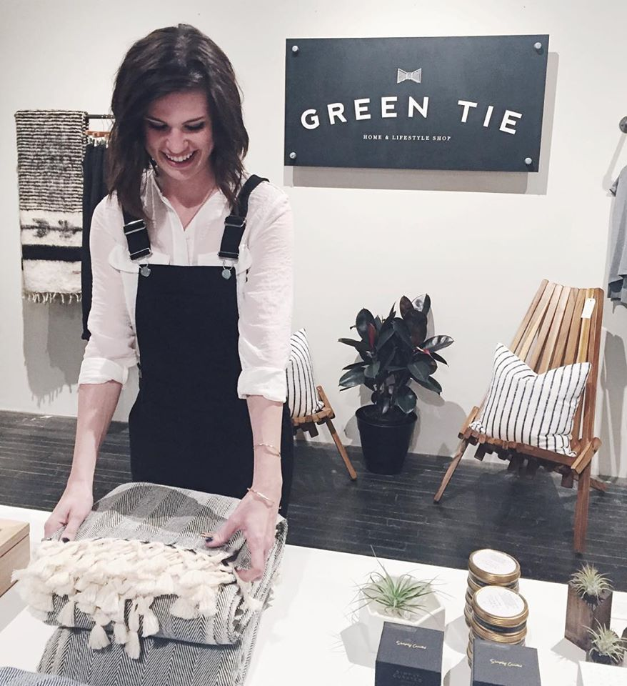Mattie's beautifully curated shop at Citizen Supply in Atlanta