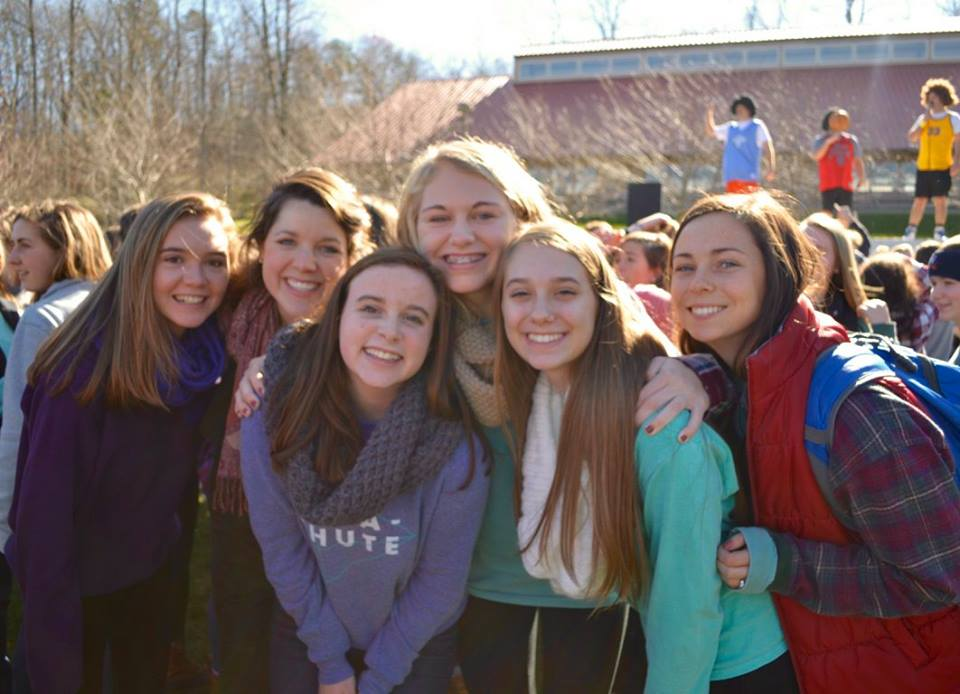 Another one of Jess and her Young Life girls. :)