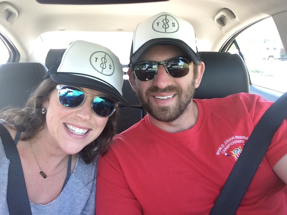 Branded hats = marriage goals