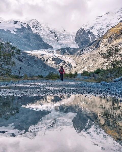 Gletscherwanderweg Morteratsch im September