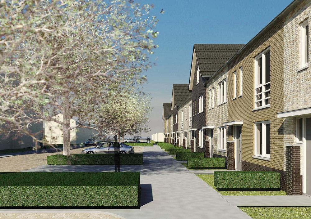 Aannemer in woningbouw en utiliteitsbouw, Noord Holland - NewBouw Merwedestraat Beverwijk