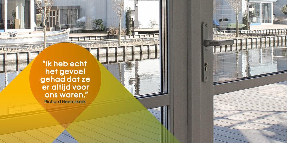 Aannemer in woningbouw en utiliteitsbouw, Noord Holland - Testimonials NewBouw