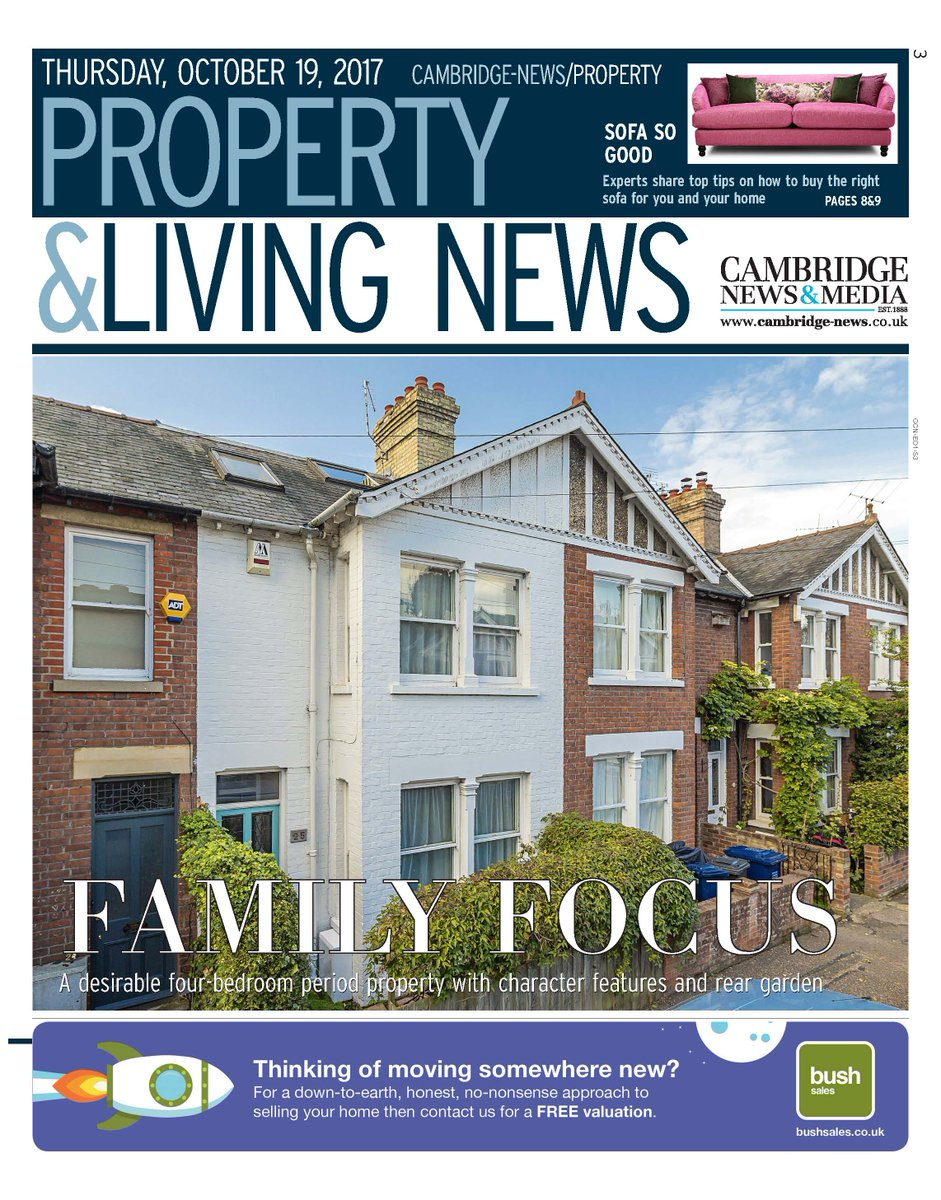 PROPERTY & LIVING NEWS CAMBRIDGE - NOVEMBER 2017