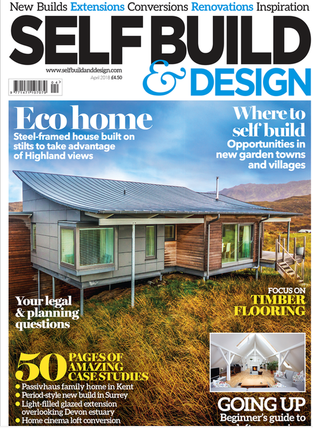 SELF BUILD & DESIGN - APRIL 2018