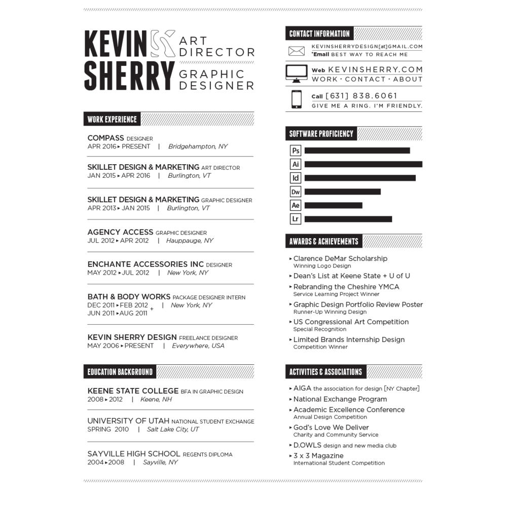 resume Resume Availability Section kevin sherry k bw web 01 png