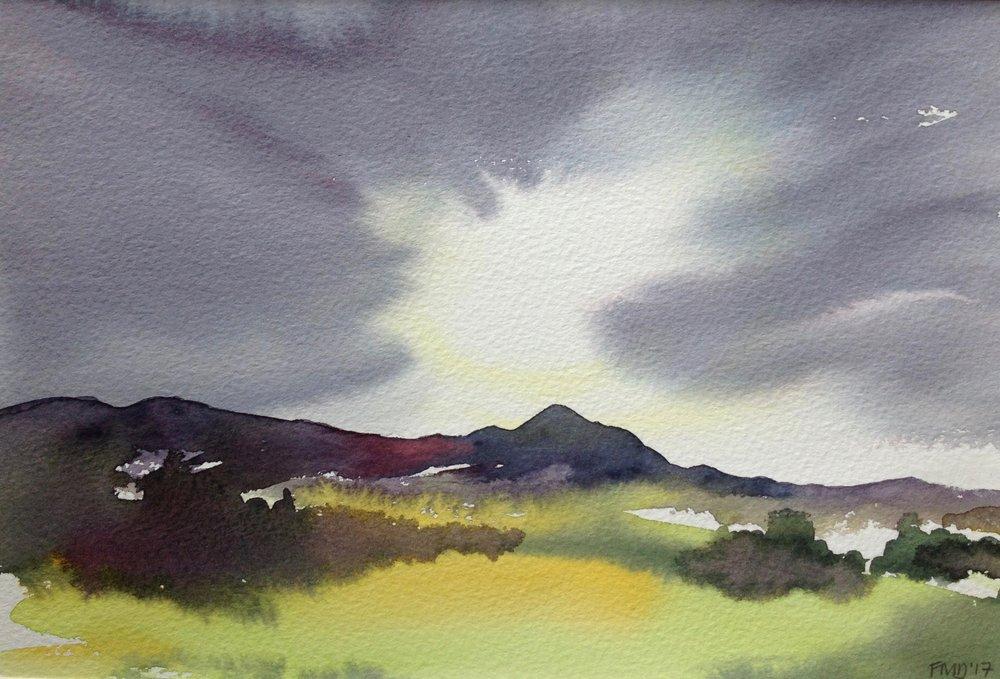 Morning Light Over Dumgoyne