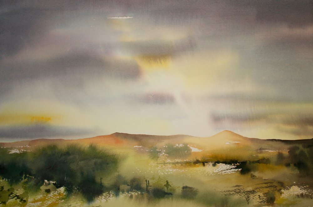Trossachs Summer Evening - sold