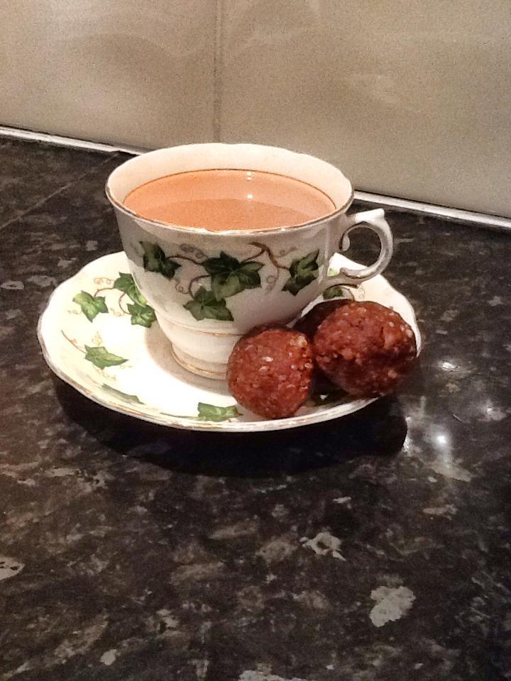 Healthy Chocolate balls. Personal training in Amersham