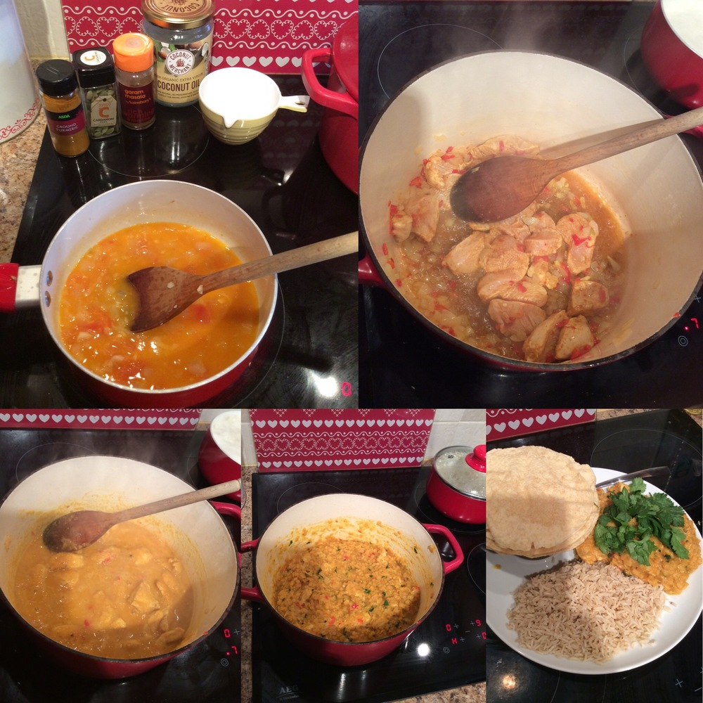Issy Russell our personal trainer's Chicken and Lentil curry recipe. Limitless Life in Berkhamsted has great tips on nutrition.