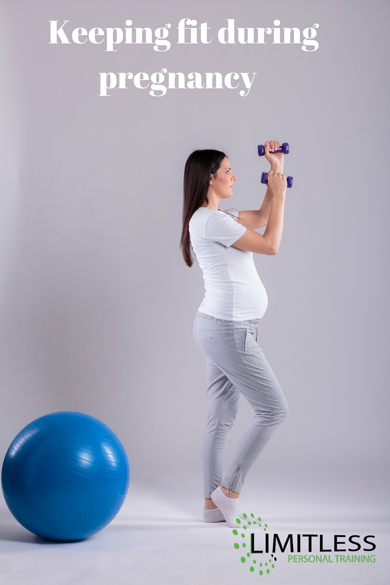Keeping fit during pregnancy with the Limitless Life personal training team in Berkhamsted.