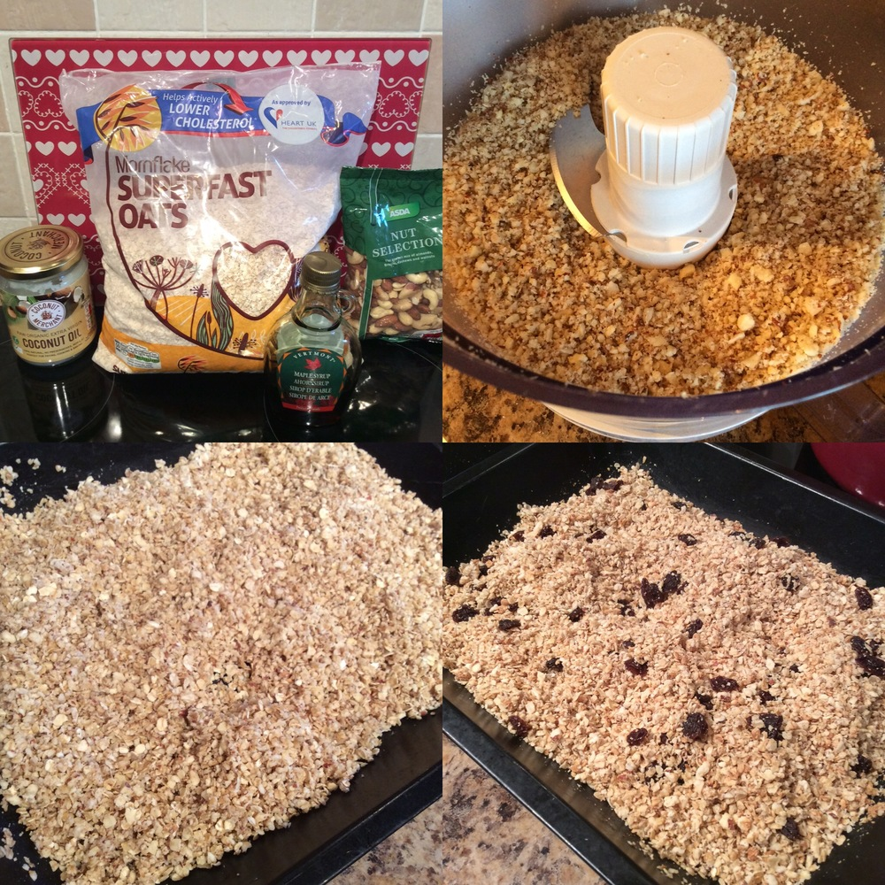 Healthy granola and other recipes at Limitless Life Berkhamsted