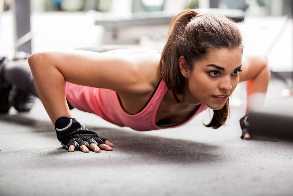 Push ups are great for toned arms and a strong core. Our personal trainers can get you completing them perfectly. At Amersham and Berkhamsted.