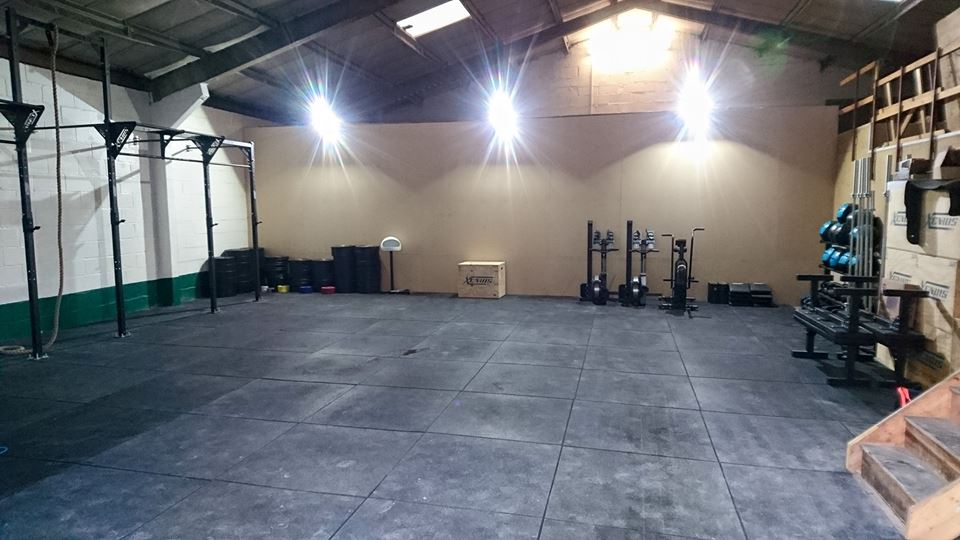 The new CrossFit Chiltern box in Amersham...
