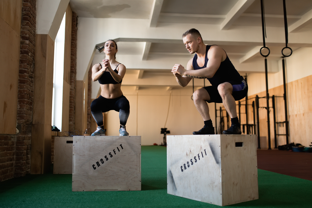 CrossFit boxes create a community of like-minded people who support each other's fitness journeys...