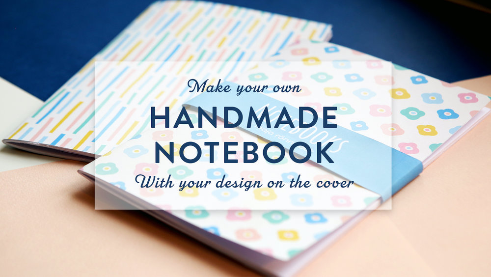 Skillshare class | Make your own notebook