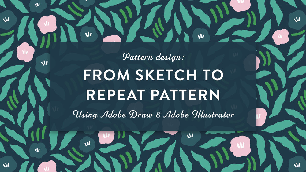 Skillshare class | Pattern design