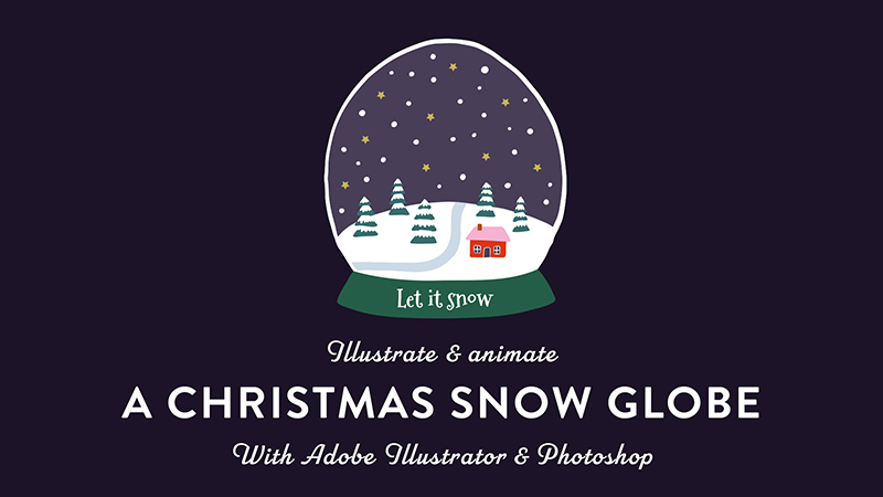 Skillshare class   Animate a snow globe