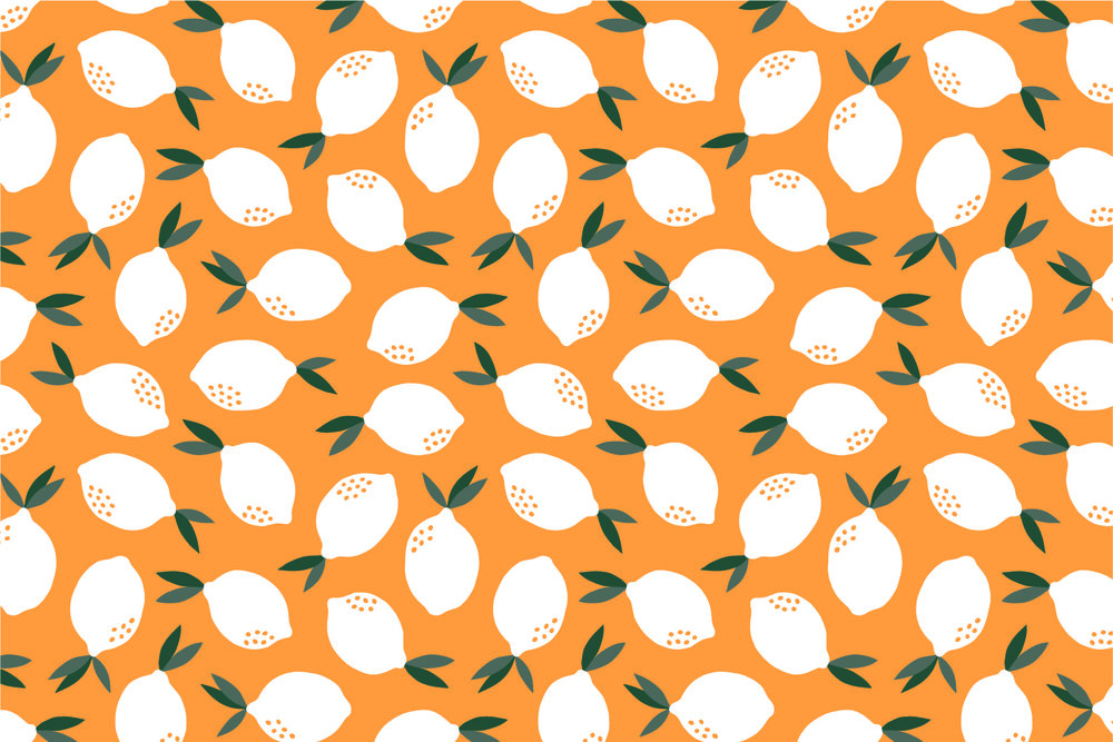 Lemon - Maja Rönnbäck | Pattern Design